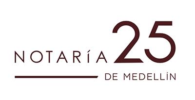 Notaría 25 de Medellín : Jorge Iván Carvajal Sepulveda